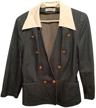 Guy Laroche Blue Denim - Jeans Jacket for Women Vintage