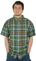 Stanley Men's Classic-Fit Madras Plaid Casual Button-Down Shirt