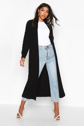 boohoo Tall Soft Knit Maxi Cardigan