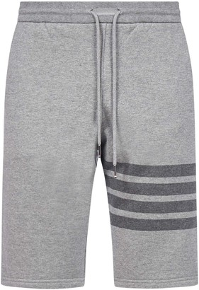 Thom Browne 4-bar Cotton Shorts