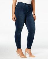 Melissa McCarthy Trendy Plus Size Cape Cod Wash Zip-Cuff Jeans