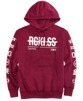 Young & Reckless Men's Strike Thru Pullover Hoodie