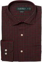 Lauren Ralph Lauren Non-Iron Holiday Poplin Classic Fit Dress Shirt Men's Long Sleeve Button Up
