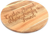 "Thirstystone Harvest ""Gather Around Where Family is Found"" Lazy Susan"