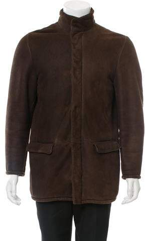 Loro Piana Shearling Leather Jacket