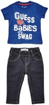 GUESS Graphic Tee and Jeans Set (0-24m)