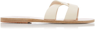 Ancient Greek Sandals Desmos Leather Slides