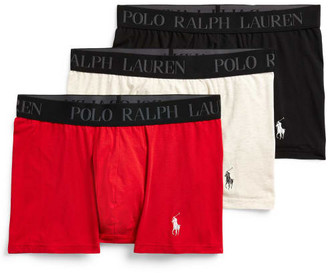 Polo Ralph Lauren 4D-Flex Stretch Cotton Trunk 3-Pack