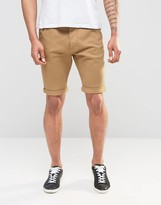 Firetrap Cotton Twill Chino Short