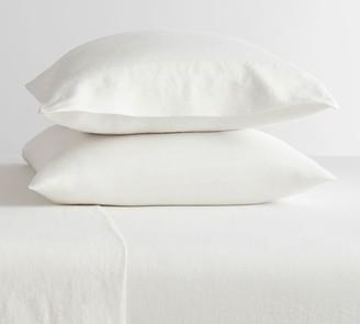 Pottery Barn Belgian Flax Linen Pillowcases