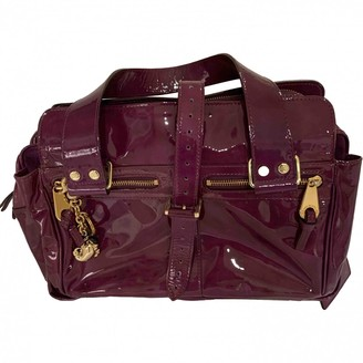 Mulberry Purple Patent leather Handbags