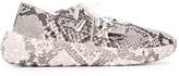 Giuseppe Zanotti Urchin snakeskin-effect sneakers