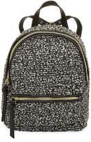 Asstd National Brand Tweed Mini Backpack