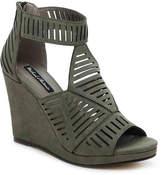 Michael Antonio Women's Kammi Wedge Sandal -Olive Green