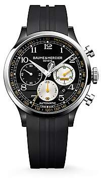 Baume & Mercier Women's Capeland Shelby® Cobra Limited Edition Stainless Steel & Rubber Strap Watch