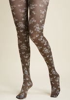 ModCloth Loose Leaf Lovely Tights