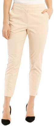 Basque Charlotte Cotton Sateen Cropped Pant