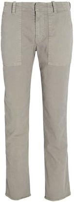 Nili Lotan Jenna Straight-Leg Twill Pants