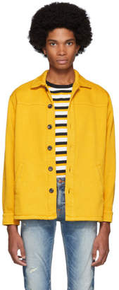 Nudie Jeans Yellow Twill Elias Jacket
