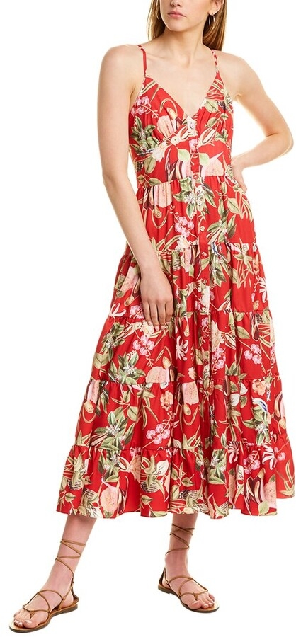 Thumbnail for your product : Beulah Tiered Maxi Dress