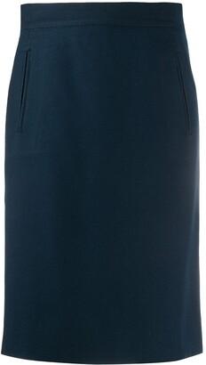 Gianfranco Ferré Pre-Owned 1990s Knee-Length Wrap Skirt