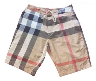 Burberry Beige Cotton - elasthane Swimwear