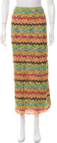 Missoni Patterned Knit Skirt