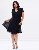 Plain Chiffon Dress