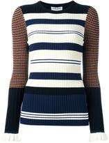 Opening Ceremony striped jumper - women - Cotton/Polyester/Spandex/Elastane/Viscose - L