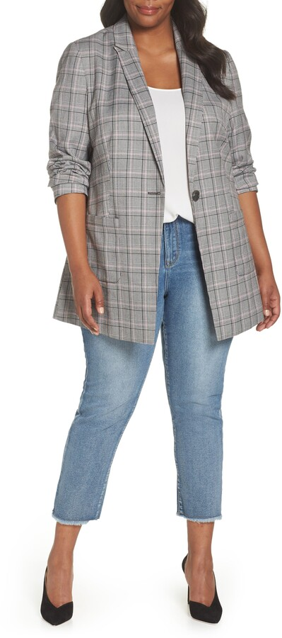 Standards & Practices Norm Glen Plaid Blazer