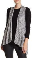 Karen Kane Open Front Knit Vest