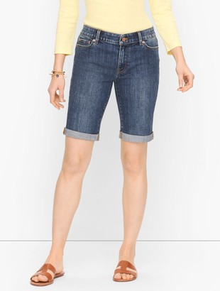 Talbots Denim Girlfriend Shorts - Pier Wash