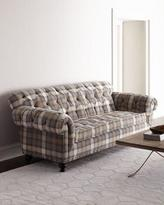 Old Hickory Tannery Flannagan Tufted Sofa