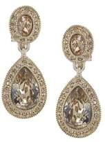Carolee The Bridget Crystal Double Drop Earrings