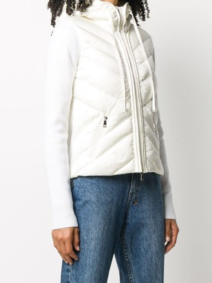 Moncler Knitted Puffer Jacket