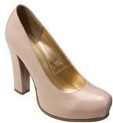 Mossimo Women's Pemota Chunky Heel Pump - Blush Patent