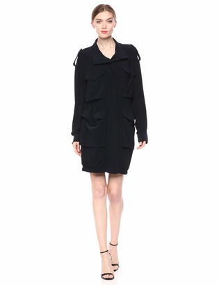 Norma Kamali Women's Turtle Cargo Dress