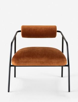 Lulu & Georgia Sharnee Accent Chair, Rust