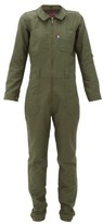 Lafont Funtaine Cotton-canvas Jumpsuit - Womens - Khaki