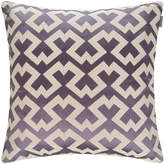 Gant Bursa Cushion - 50x50cm - Purple Beech