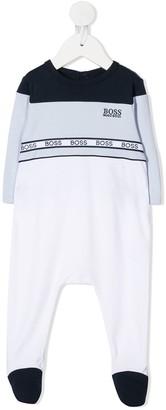 Boss Kids Embroidered Logo Pyjama