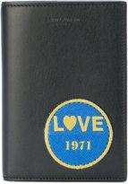 Saint Laurent Love patch cardholder wallet