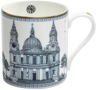 Halcyon Days Bone China St. Paul's Cathedral Mug