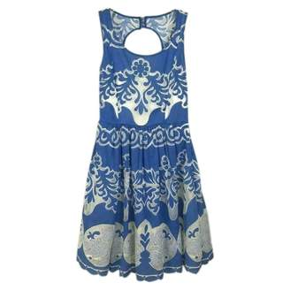 Tracy Reese \N Blue Cotton Dress for Women