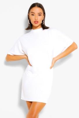 boohoo Soft Loopback Sweat Dress