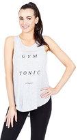 Betsey Johnson Gym And Tonic Side Cutout Tank