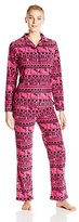 Hello Kitty Women's Fair Isle Two-Piece Pajama Set