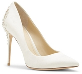 Imagine Vince Camuto Olive – Embellished Satin Pump