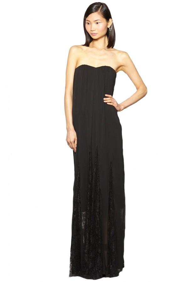 Alice + Olivia Francesca Strapless Dress