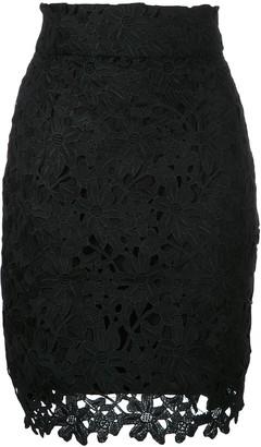 Bambah lace mini skirt